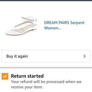 Women's rhinestone sandals